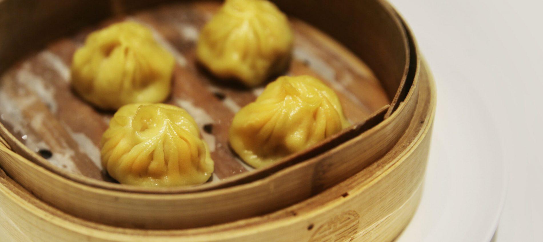 17 - Xiaolongbao txangurro con caldo marisco